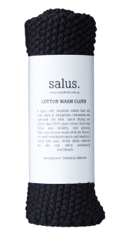 Cotton Wash Cloth- Salus Body