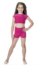 Load image into Gallery viewer, Studio 7 Dancewear / Children's Activate Crop Top - TCT01