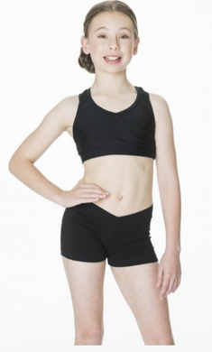 Studio 7 Dancewear / Children's T-Back Crop Top - CHCT01