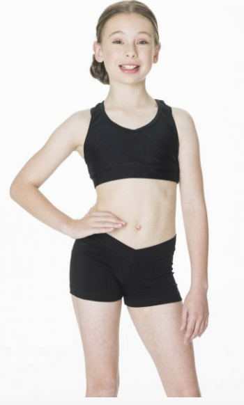 Studio 7 Dancewear - Children's T-Back Crop Top - CHCT01