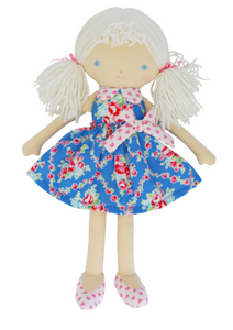 Alimrose | Essie Dress Me Doll 38cm Blue Floral