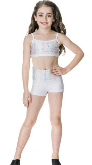 Studio 7 Dancewear - Children's Galaxy High Waisted Shorts - CHS07