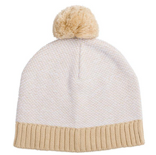 Load image into Gallery viewer, Miann + Co NATURAL KNIT BEANIE