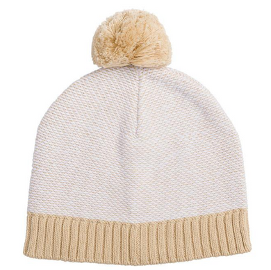 Miann + Co NATURAL KNIT BEANIE