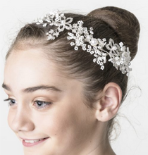 Load image into Gallery viewer, Studio 7 Dancewear / Winter Sparkle Hairpiece - HP07