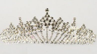 Studio 7 Dancewear / The Alexandra Large Tiara - TL02