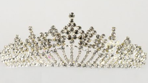 Studio 7 Dancewear - The Alexandra Large Tiara - TL02