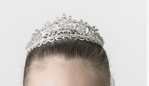 Studio 7 Dancewear - The Caroline Large Tiara - TL03