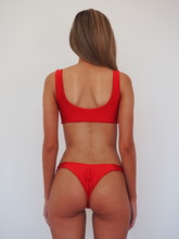 Load image into Gallery viewer, GEORGE RED TIE UP BIKINI SET - GERRY CAN