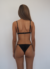 Load image into Gallery viewer, CANNES SEAMLESS MINIMAL BIKINI SET -Black - GERRY CAN