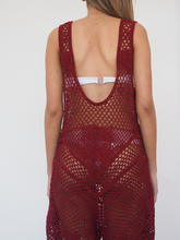 Load image into Gallery viewer, Burg Lola Crochet Jumpsuit - GERRY CAN