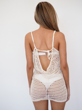 Load image into Gallery viewer, STEVIE CROCHET PILOT JUMPSUIT- Natural - GERRY CAN