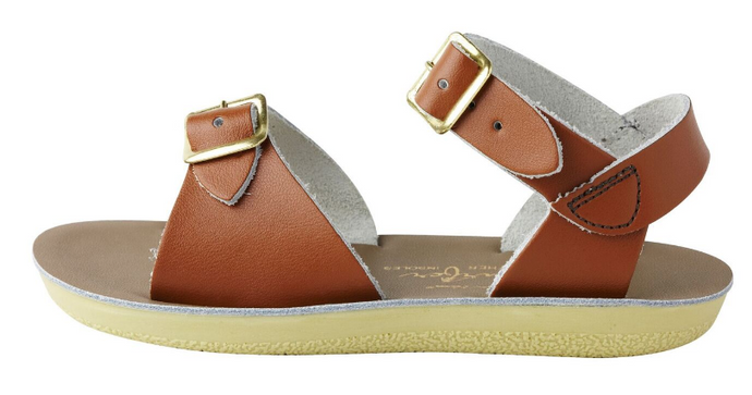 Salt Water Sandal Surfer - Tan - Child