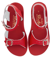 Load image into Gallery viewer, Salt Water Sandal Sun Surfer - Red - Child