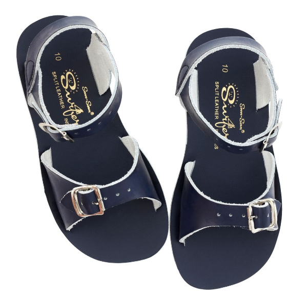 Salt Water Sandal Sun Surfer - Navy - Child