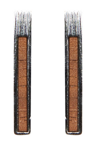 EB + IVE - METAL BAR PIN EARRING - SILVER & GOLD