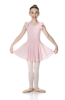 Studio 7 Dancewear - Children's Cap Sleeve Chiffon Dress - CHD01