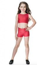 Load image into Gallery viewer, Studio 7 Dancewear / Children's Mesh Crop Top - CHCT06