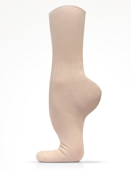 MDM Performance Bamboo pink ballet socks in