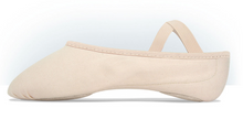 Load image into Gallery viewer, MDM Performance Intrinsic Canvas Hybrid split sole ballet slipper - adult