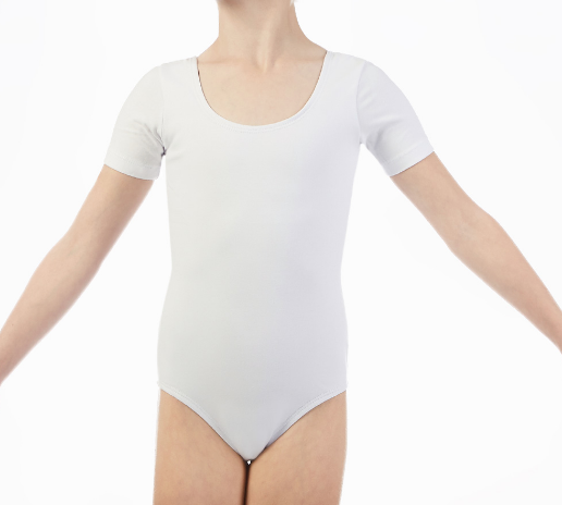 custom made short sleeve leotard for kids