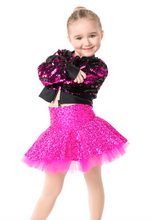 Load image into Gallery viewer, Studio 7 Dancewear / Children's Stage Lights Cropped Jacket - CHJ01