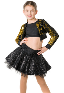 Studio 7 Dancewear / Children's Stage Lights Cropped Jacket - CHJ01