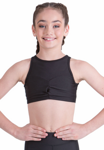 Studio 7 Dancewear / Children's Olive Crop Top - CHCT12
