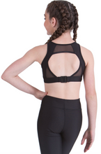 Load image into Gallery viewer, Studio 7 Dancewear / Children's Olive Crop Top - CHCT12