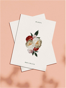 OH EM GEE PAPER: HAPPY HOLIDAYS GREETING CARD