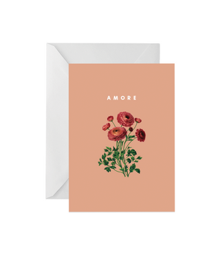 OH EM GEE PAPER: AMORE GREETING CARD