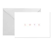 Load image into Gallery viewer, OH EM GEE PAPER:LOVE GREETING CARD
