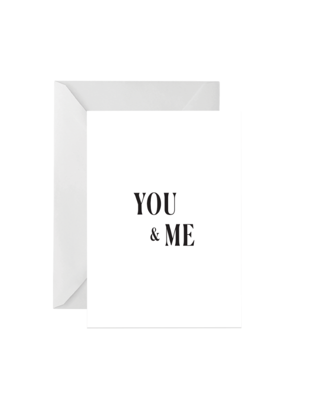OH EM GEE PAPER: YOU AND ME