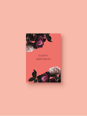 OH EM GEE PAPER: HAPPY BIRTHDAY CARD