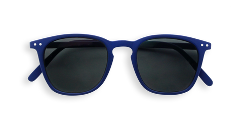 Izipizi Sun JUNIOR Collection - E SQUARE FRAME NAVY SUNGLASSES
