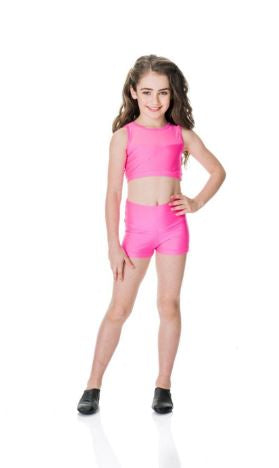 Studio 7 Dancewear - Children's Mesh Crop Top - CHCT06