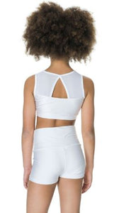 Studio 7 Dancewear / Children's Mesh Crop Top - CHCT06