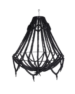 My Store - Ecora 2.0 Boho Detailed Chandelier Black