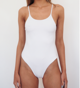 BYRON ONE PIECE - WHITE + BLUSH REVERSE - GERRY CAN