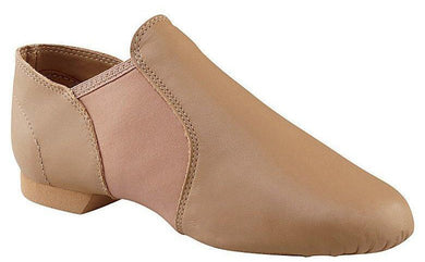 Capezio EJ2 Large adult slip on jazz shoe. Caramel