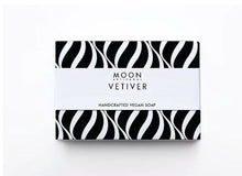 Load image into Gallery viewer, Moon Artisanal - VETIVER HAND CRAFTED VEGAN SOAP BAR