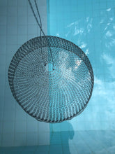Load image into Gallery viewer, Dainty Dante mesh woven pendant