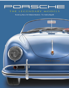 Porsche: The Legendary Models Hardcover Book