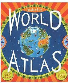 Barefoot Books World Atlas Book