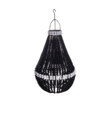 My Store - Pendant Drop Beaded Chandelier Black + White