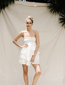 MARGOT DRESS - WHITE
