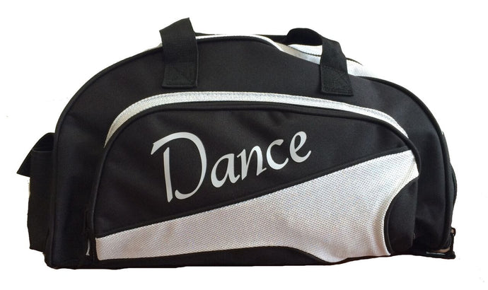 Studio 7 Dancewear / Junior Duffel 'Dance' Bag Crystal White - DB05