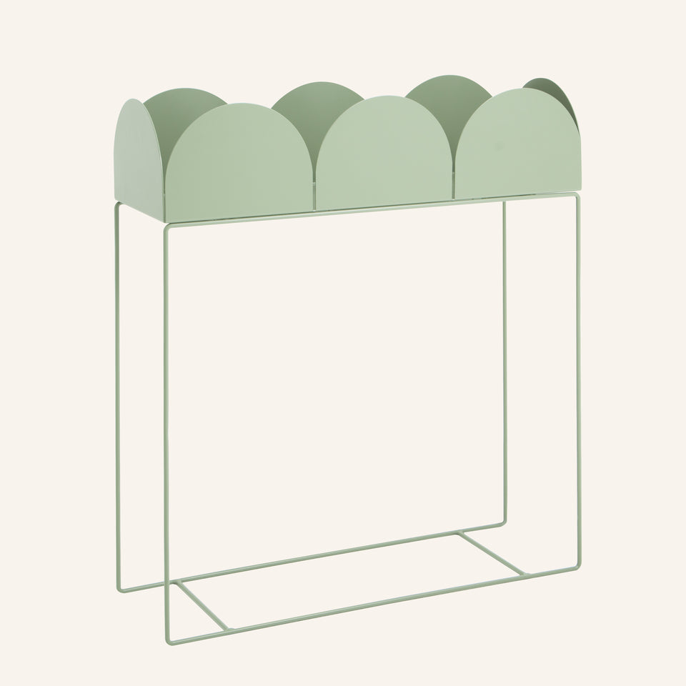 FOLD Arch Planter Box ∙ Mist Green