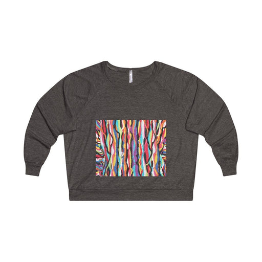 Lightweight Tri-Blend Raglan Pullover Sweatshirt - Vizionaryfocus Top Shelf
