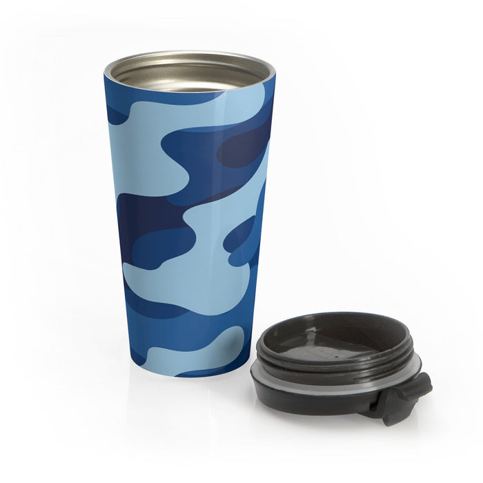 Stainless Steel Travel Mug - Vizionaryfocus Top Shelf